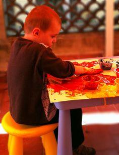 La cuca: Sensacions de colors i textures / Sensaciones de colores y texturas