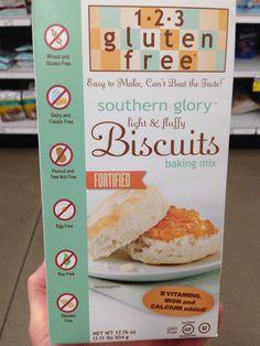 Allergy-friendly biscuit mix!