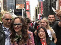 Dakota Johnson ❣️ Anastasia Steele ❣️50 shades of Grey ❣️ selfie ❣️ NYC ❣️ Gucci in Bloom ❣️ Gucci sunglasses