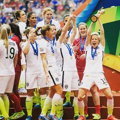 Yep Happy birthday to me!!!! World Cup Champion!!!! #TheGals. I'm so proud to be in this team ❤️JaneGPhotography