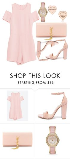 """""""Untitld#1432"""" by mihai-theodora ❤ liked on Polyvore featuring Steve Madden, Yves Saint Laurent, Michael Kors and Tiffany & Co."""