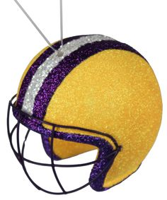 MS1181EA - LSU Helmet w/hanger  #helmet #football #lsu