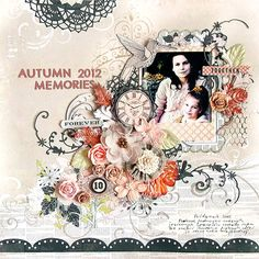 Background 'layers'  Layout: {Autumn 2012 Memories} *OUAS*
