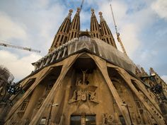Construction on the epic Barcelona church Sagrada Família is due to be finished in 2026.