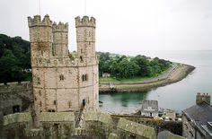 ysvoice:      ♕   Caernarfon Castle - Wales, UK   by © Peter Gutierrez