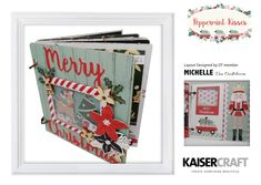 Holly-jolly inspiration, our Design Team absolutely loved creating with the playful Peppermint Kisses collection!