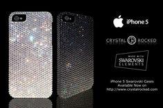 Swarovski Studded iPhone 5 Case from Crystal Rocked