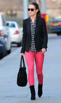 coloured jeans