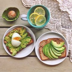 Avocado toast is not just a breakfast item! Adding an egg to the simple recipe is an easy way to up the pro...