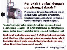 Perlukah Tranfusi Dengan Penghangat Darah? - Pasien Sehat