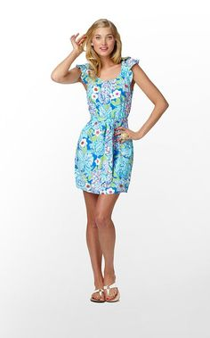Lilly Pulitzer Maya Dress - need something I can wear at graduation ceremony that's comfortable enough for Vegas flight.