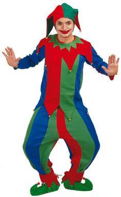 Disfraz de Bufón para adulto