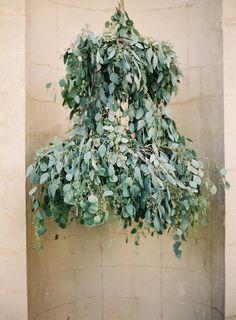 eucalyptus garland | Wedding Created By Cocktail {Eucalyptus Martini}