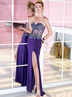 Casino Night Evening Dresses Corset