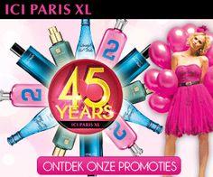 Ici-Paris-XL promoties, kortingen en aanbiedingen voor hun 45 jaar bestaan