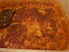 Chefkoch.de Rezept: Low-Carb Hackfleisch-Pizza Low Carb Pizza, Meatloaf, Pork, Beef, Ethnic Recipes, Food Portions, Food Food, Cooking, Kale Stir Fry