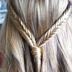 fishtail braid !