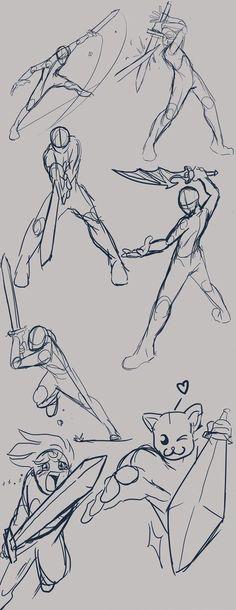 Manga Drawing Tips Anime Drawing Poses Best 25 Action . Drawing Body Poses, Drawing Reference Poses, Design Reference, Gesture Drawing Poses, Sword Reference, Anatomy Reference, Action Pose Reference, Drawing Base, Figure Drawing