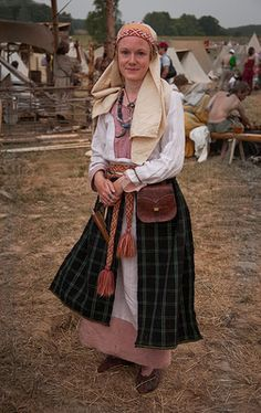 middle ages slavic garb - Google Search