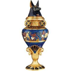 Design Toscano Grand Anubis Lidded Urn * Read more reviews of the product by visiting the link on the image.