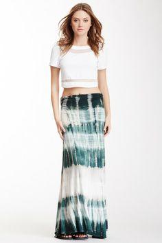 Tie-Dye Maxi Skirt by Mono B