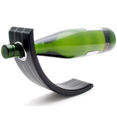 Gravity Leather Wine Bottle Holder #Elegant, #Holder, #Leather, #Wine