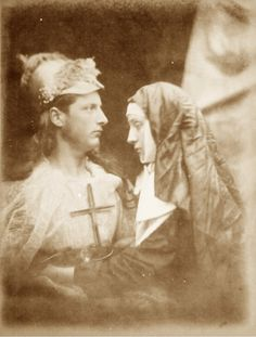 julia margaret cameron | Julia Margaret Cameron, 'Sir Galahad and the Pale Nun', plate IX from ...