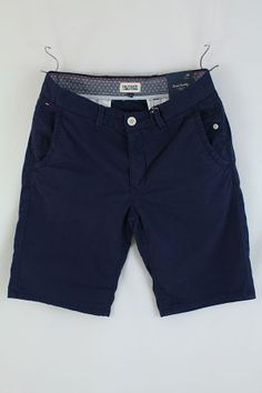 Hilfiger Denim Freddy Slim Fit Chino Shorts Peacoat