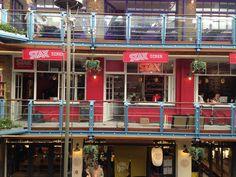 Stax Diner.  www.whatsoninlondon.co.uk  #americanfood #chickenandwaffles #friedgreentomatoes #regentstreet #restaurant