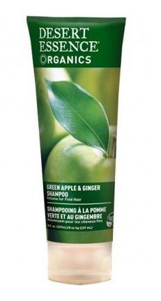 Desert Essence Green Apple & Ginger Shampoo - Volume for Fine Hair $9.99 - from Well.ca
