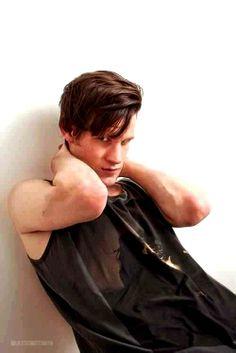 Matt Smith (Eleventh Doctor) Modeling shot