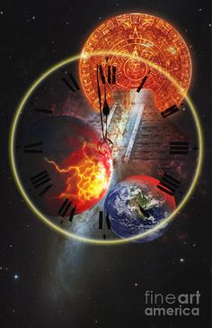 Earth Photograph - Photo Illustration Of The End by George Mattei