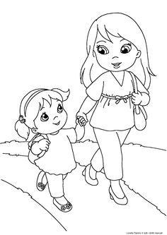 Camping Coloring Pages, Coloring Pages Winter, Fruit Coloring Pages, Dog Coloring Page, Coloring Pages For Boys, Coloring Books, Mothers Day Cards Craft, Mothers Day Presents, Toddler Sunday School