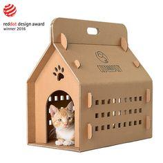 Die CATVENTURE ist eine Katzenhaus, das kann auch durch als eine leichte Transportbox für Ihre Katze und andere Kleintiere verwendet. Ihre Katze lieben zum verstecken und schlafen im Inneren. Es ist eine perfekte Lösung für Tierkliniken, Katze Unterstände. Die CATVENTURE ist Öko-freundlich und sehr komfortabel. Vier verschiedene abnehmbare Türen sind im Set enthalten.  CATVENTURE ist der Gewinner des international anerkannten RED DOT AWARD Preis 2016.  Catventure Feaures sind: -Einzigartiges…