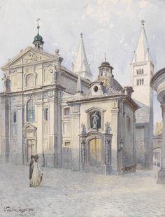 Jansa - St.George basilica, Prague