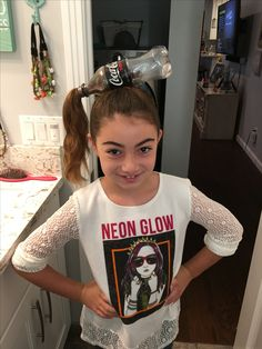 Crazy Hair Day at School