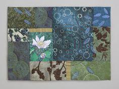 "Contemporary Fiber Art - ""Random Treasures"" (Original Art from Sharon McCartney)"