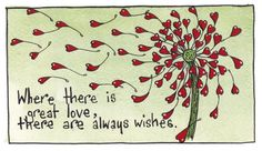Wedding wishes by Susan Wilde on Etsy