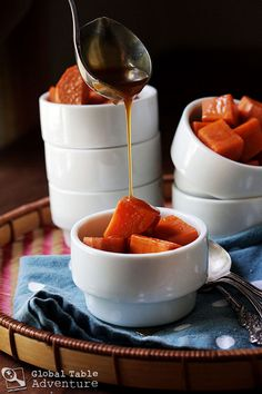 Sweet Potatoes in Coconut Caramel Sauce from Tonga
