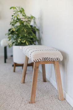 Ikea Hack upholstered bench