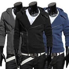 Mikina So Zipsami NR20U003 Men Fashion, Motorcycle Jacket, Leather Jacket, Jackets, Man Fashion, Studded Leather Jacket, Down Jackets, Moto Jacket, Men's Fashion