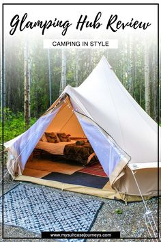 A warm bed. A hot shower. Glamping is a luxurious outdoor adventure like none other.