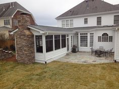 This customer transformed part of their 2nd floor deck into a ...