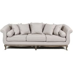Classically modern couch