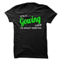 Brilliant GOWING T Shirt To Make GOWING More GOWING - Coupon 10% Off