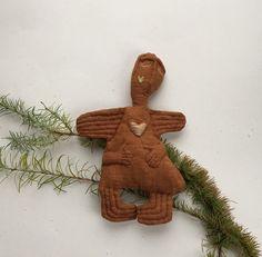 Linen Doll Angel  Christmas Angel  Soft Angel  Art Doll