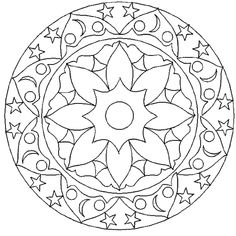 Geometric Coloring Page