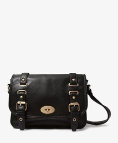 Faux Leather Buckled Satchel | FOREVER21 | $28