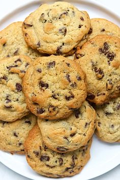 Basic Drop Cookies Recipe KAF- lower temp and shorter cook time Cookie Recipe No Butter, Basic Dough Recipe, Drop Cookie Recipes, Cookie Ideas, Plain Cookies, Basic Cookies, No Flour Cookies, Drop Cookies, Cookies