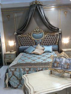 Bedroom in antic design arvestyle
